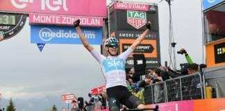 Chris Froome gagne au Monte Zoncolan sur le Giro 2018