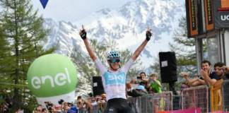 Chris Froome impose sa loi à la 19e étape du Giro 2018