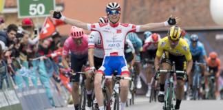 David Gaudu vainqueur de la 3e étape du Tour de Romandie