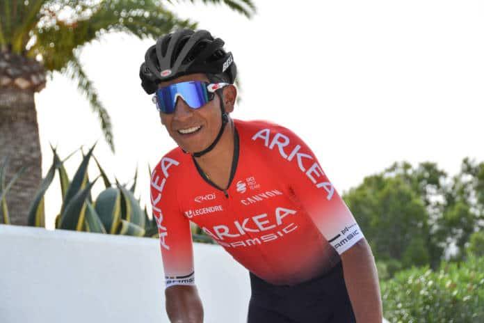 Nairo Quintana cible ses objectifs pour le reste de l'année 2020