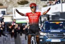 Nairo Quintana sur le Tour de l'Ain avant le Tour de France