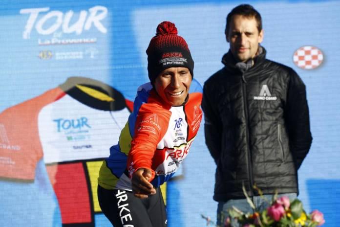 Nairo Quintana favorise la reprise de l'entraînement en Colombie