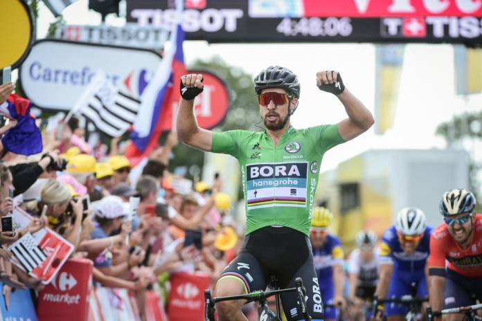 Peter Sagan peut-être pour la première fois au Giro