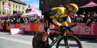 Primoz Roglic premier maillot rose du Giro 2019
