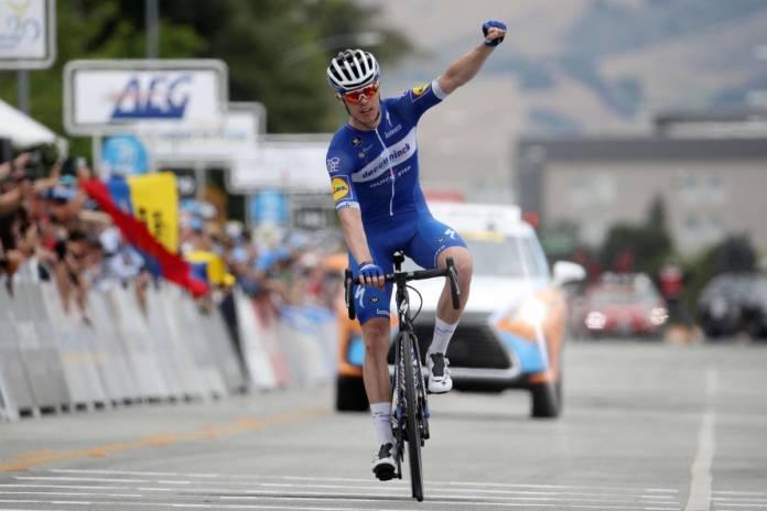 Rémi Cavagna signe un numéro au Tour de Californie