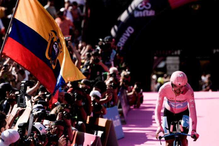 Richard Carapaz vise le Giro en 2020