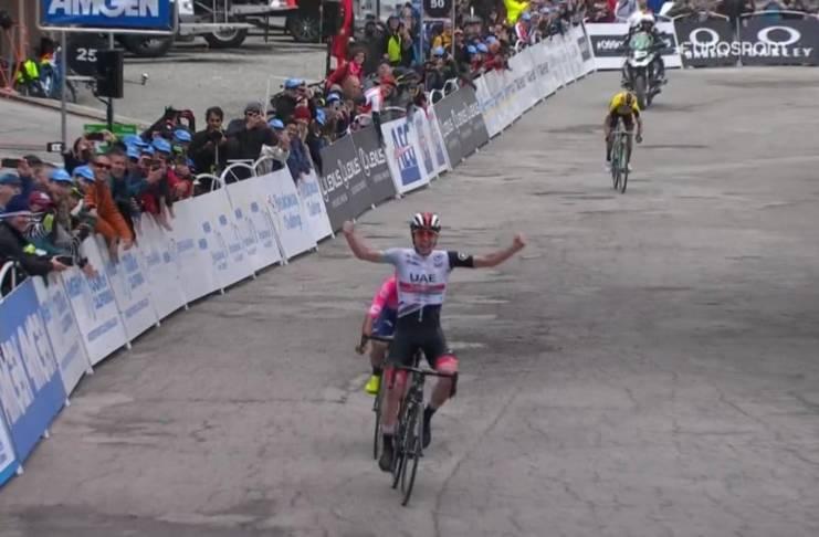 Tadej Pogacar est le vainqueur du Tour de Californie 2019