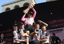Tom Dumoulin vainqueur de l'édition 2017 du Tour d'Italie