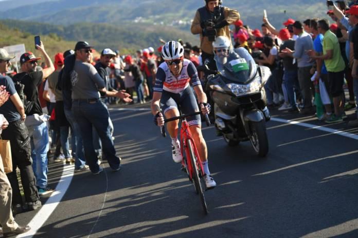 Vincenzo Nibali penche vers le Giro