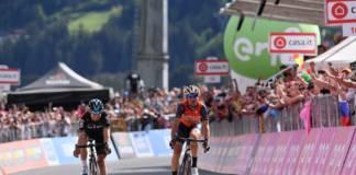 Vincenzo Nibali a repris espoir pour la victoire finale du Giro 2017 le 23 mai