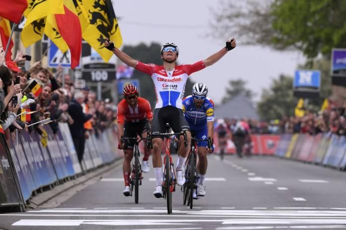 Mathieu van der Poel prêt à courir le Tour de Lombardie