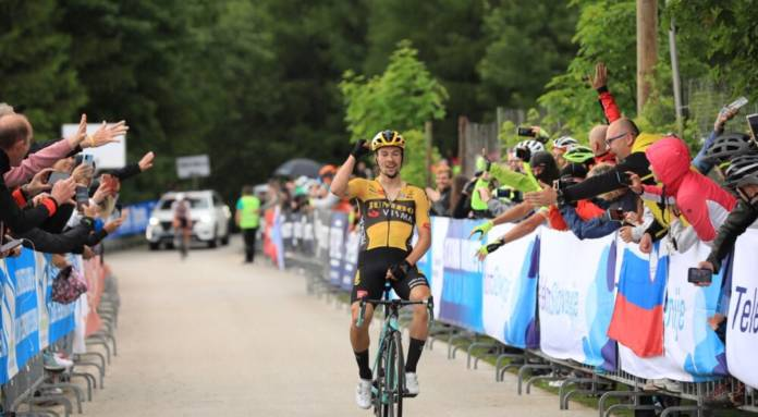 Primoz Roglic vainqueur de son championnat national