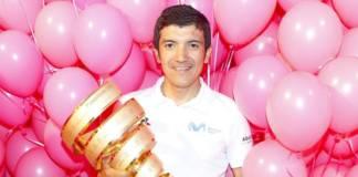 Richard Carapaz est le vainqueur sortant du Tour d'Italie