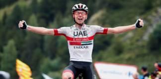 Tadej Pogacar sur le Tour de France 2020