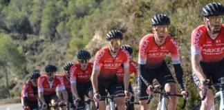 Team Arkéa-Samsic peaufine sa préparation en stage