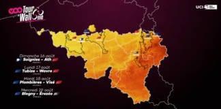 Tour de Wallonie disputé du 16 au 19 août