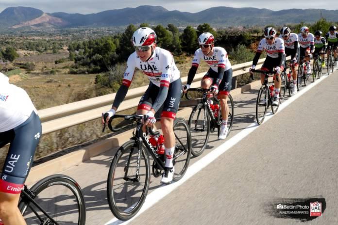 Tour de France avec une grosse équipe UAE Team Emirates