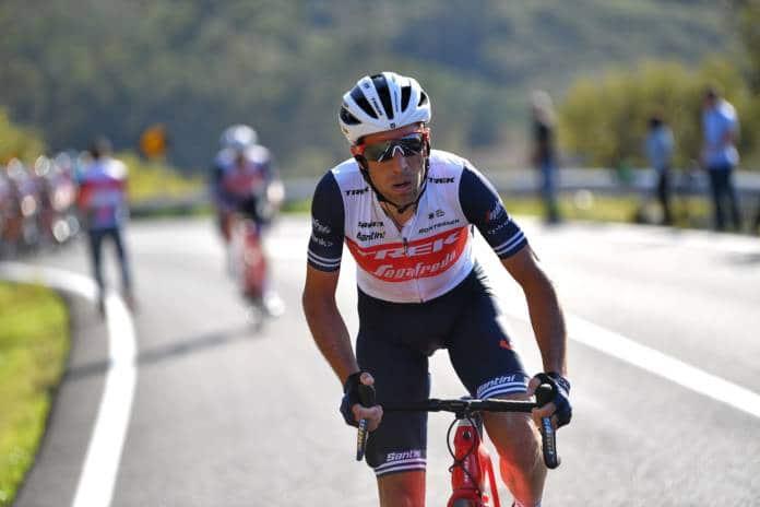 L'équipe Trek-Segafredo autour de Vincenzo Nibali pour le Giro 2020