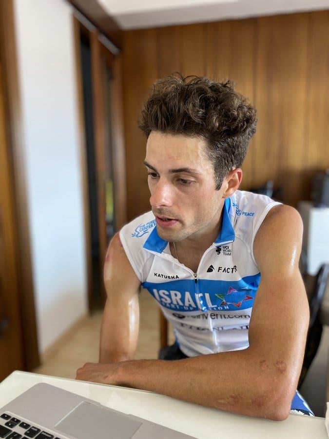 Freddy Ovett vainqueur de la 4e étape du Tour de France virtuel