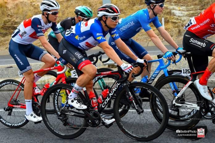 Jasper Philipsen au départ de la Vuelta 2020