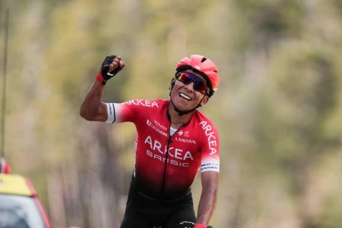 Nairo Quintana percuté par une voiture