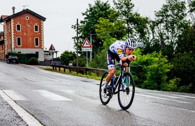 Remco Evenepoel en période de reconnaissance du Giro 2020