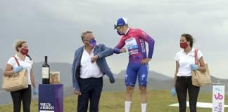 Remco Evenepoel leader du classement général du Tour de Burgos 2020