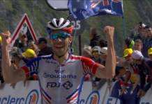 Thibaut Pinot vainqueur d'étape au Tour de France 2019