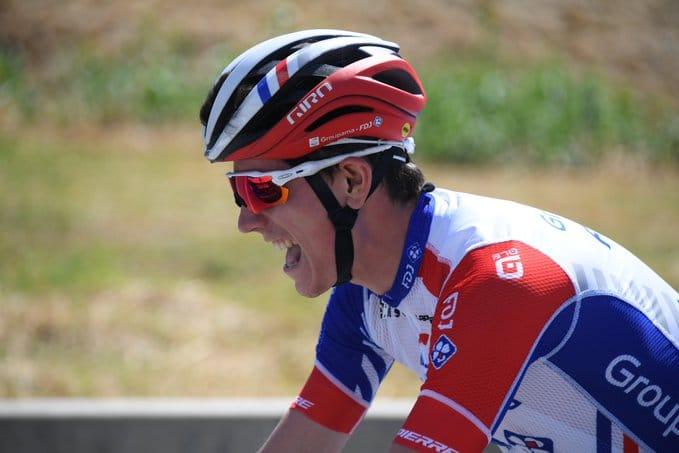 David Gaudu en pleine galère sur la 2e étape du Tour de France 2020