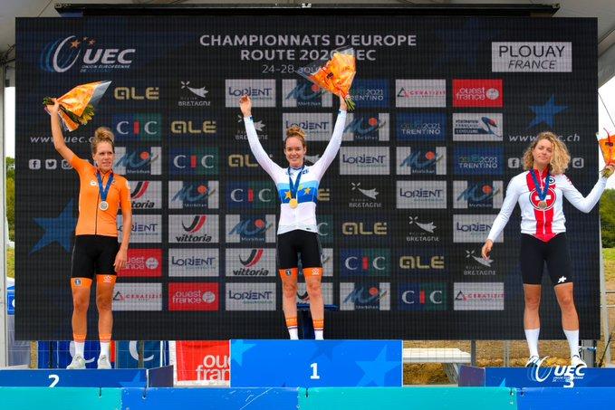 Championnat d'Europe remporté par Anna van der Breggen