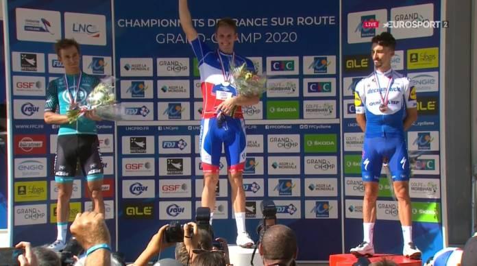 Arnaud Démare champion de France pour la 3e fois de sa carrière