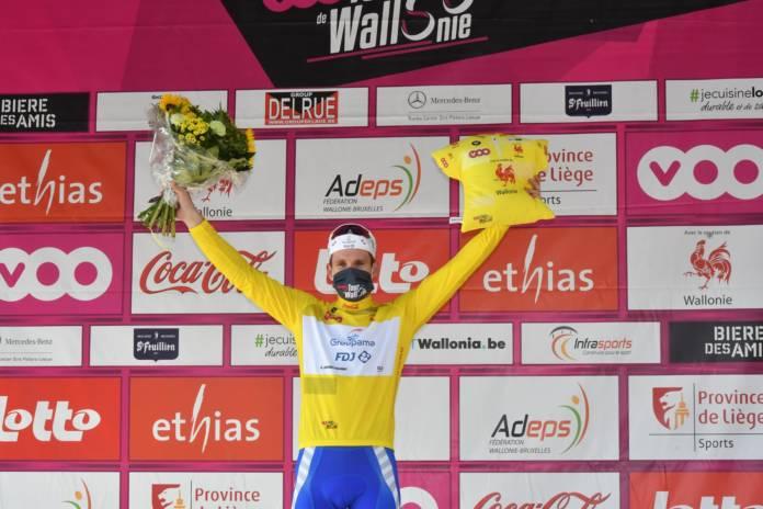 Arnaud Démare remporte le classement général final du Tour de Wallonie 2020