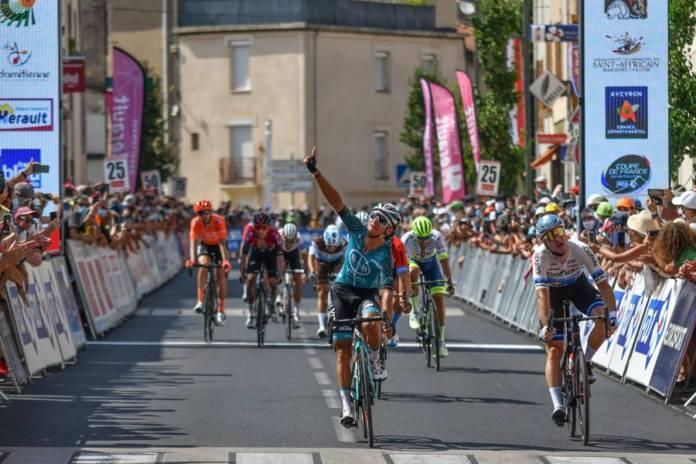 Bryan Coquard vainqueur sur la 1e étape de la Route d'Occitanie