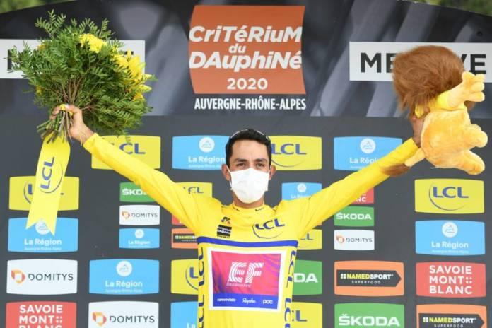 Daniel Martinez (EF Pro Cycling) a remporté le Critérium du Dauphiné 2020