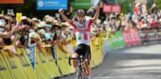 Critérium du Dauphiné étape 3 remportée par Formolo