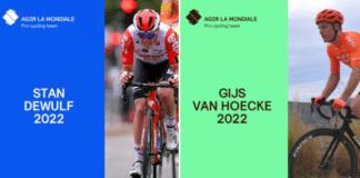AG2R La Mondiale fait signer Dewulf et Van Hoecke