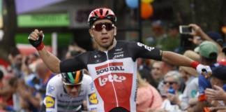 Caleb Ewan a remporté la 1e étape du Tour de Wallonie.