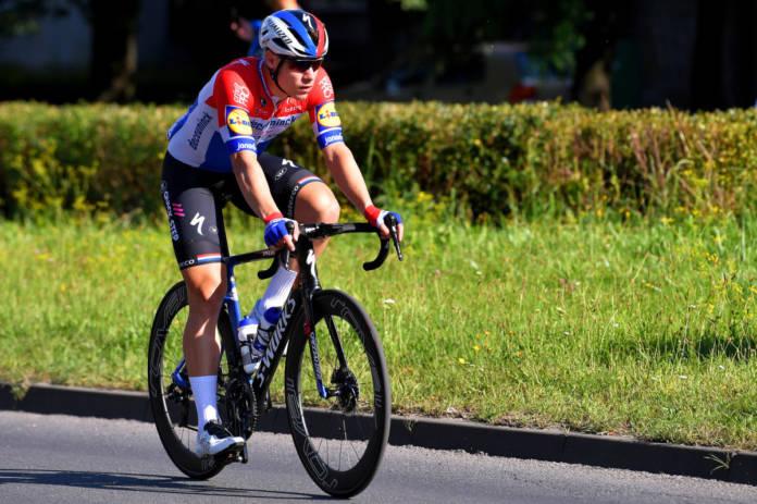 Fabio Jakobsen après sa terrible chute en Pologne
