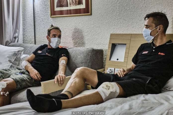 Philippe Gilbert se fracture la rotule sur le Tour de France 2020