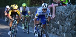 Julian Alaphilippe avec Decuninck - Quick Step sur le Critérium du Dauphiné 2020