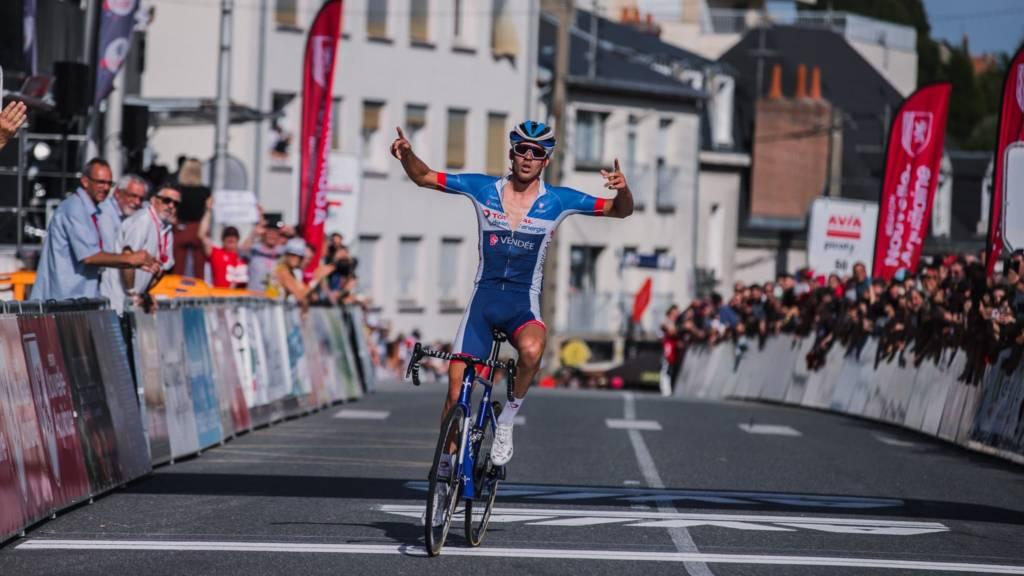 Luca Wackermann remporte la première étape — Tour du Limousin