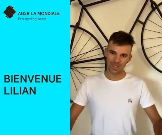 Lilian Calmejane rejoindra en 2021 Ag2r Citroën Team