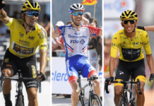 Les partants du Tour de France 2020
