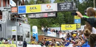 Primoz Roglic a remporté la 2e étape du Critérium du Dauphiné 2020