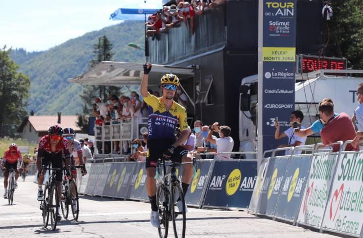 Primoz Roglic a remporté la 2e étape du Tour de l'Ain 2020