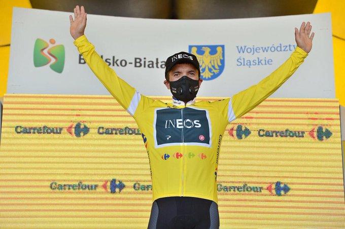 Richard Carapaz de leader à l'abandon au Tour de Pologne