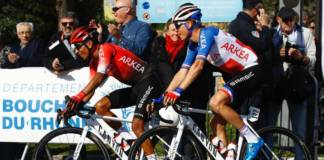 Critérium du Dauphiné avec une ambitieuse formation Arkéa-Samsic