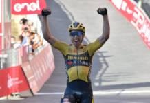 Wout Van Aert tient sa victoire dans une grande classique