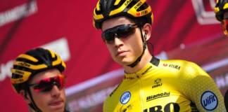 Wout van Aert n'a pas osé prendre part au sprint de la 1e étape du Tour de France 2020.