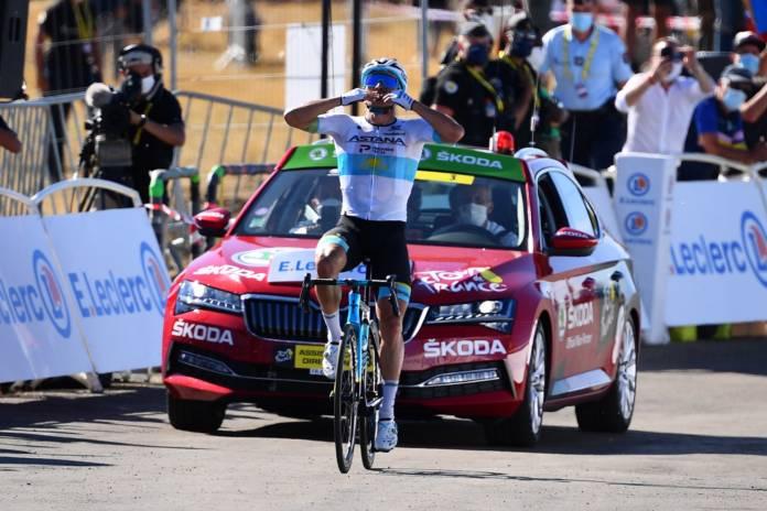 Alexey Lutensko vainqueur de la 6e étape du Tour de France 2020